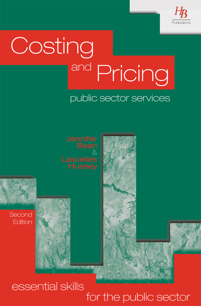 Costing and Pricing Public Sector Services 2nd Edition Ebook