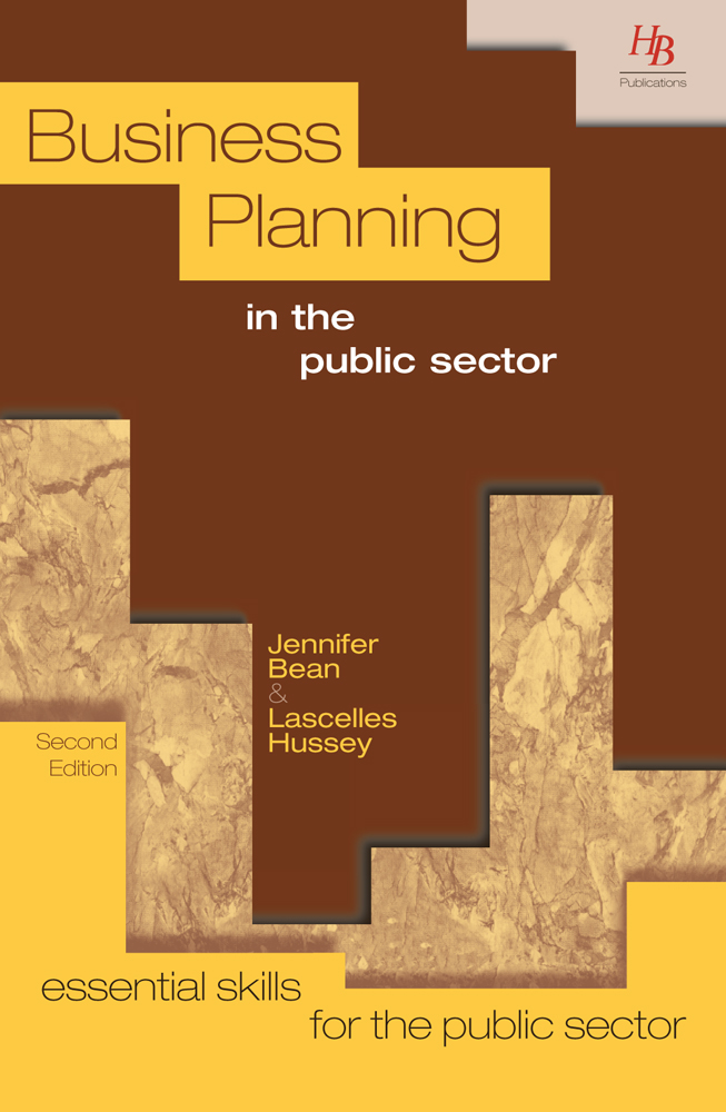 Business Planning in the Public Sector 2nd Edition