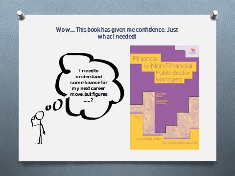 Finance book presentation