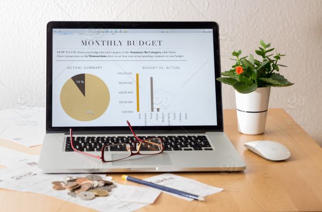 budget v actual computer