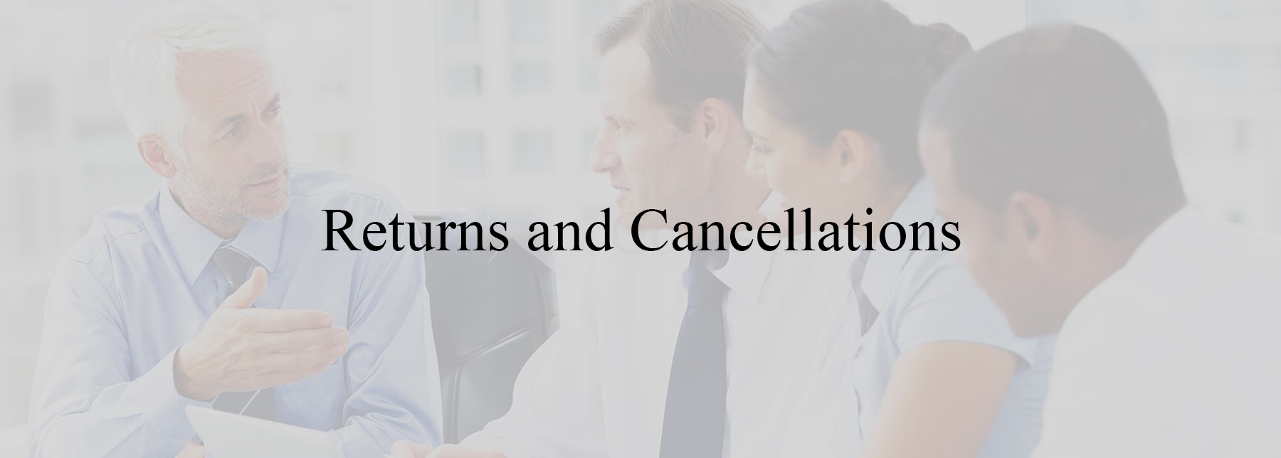 returns and cancellations policy 1